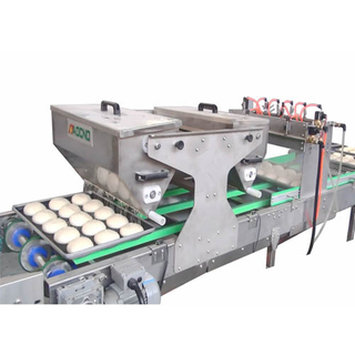 Automatic Sprinkle Water And Sesame Machine